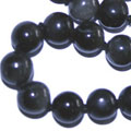 black spinel necklaces