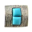 Design 21153: blue turquoise pendants