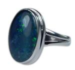 Design 21265: multi-color opal rings