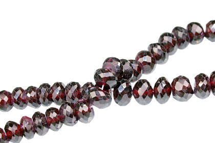 SKU 13756 - a Garnet beads Jewelry Design image