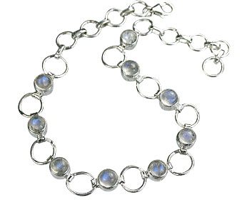 SKU 14626 - a Moonstone bracelets Jewelry Design image