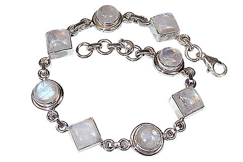 SKU 491 - a Moonstone Bracelets Jewelry Design image