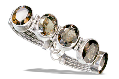 unique Smoky Quartz Bracelets Jewelry for design 13551.jpg