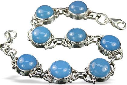 unique Chalcedony Bracelets Jewelry for design 8142.jpg