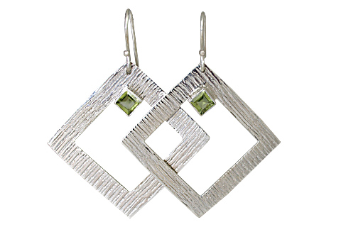 SKU 10695 - a Peridot earrings Jewelry Design image
