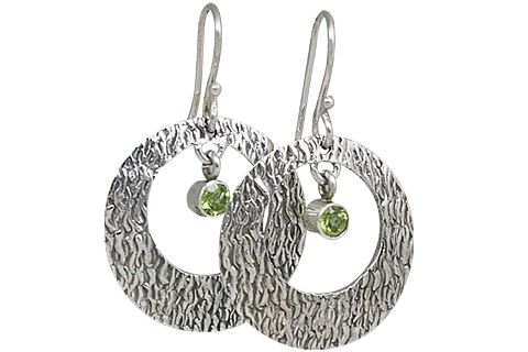SKU 10697 - a Peridot earrings Jewelry Design image