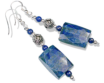 SKU 12785 - a Lapis Lazuli earrings Jewelry Design image