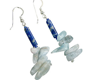 SKU 15587 - a Lapis Lazuli Earrings Jewelry Design image