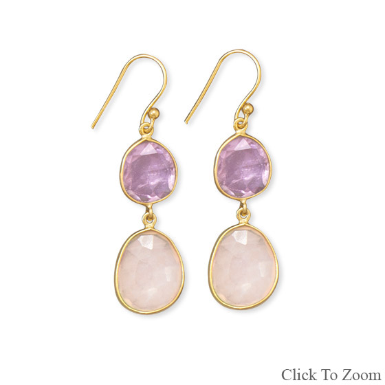 SKU 21723 - a Multi-stone Earrings Jewelry Design image