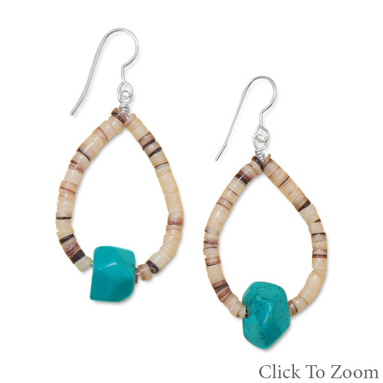 SKU 21800 - a Multi-stone earrings Jewelry Design image