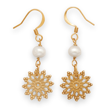 SKU 21896 - a Pearl earrings Jewelry Design image