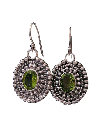 SKU 8379 - a Peridot earrings Jewelry Design image