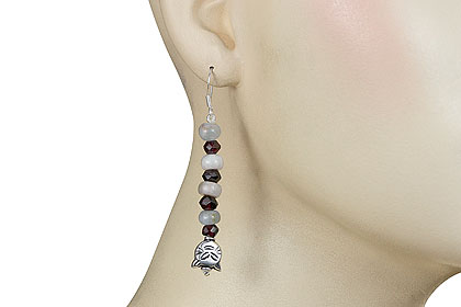 SKU 16135 unique Multi-stone Earrings Jewelry