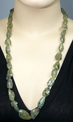 unique Prehnite Necklaces Jewelry