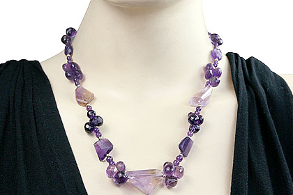unique Amethyst Necklaces Jewelry