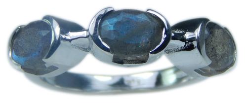SKU 21689 unique Labradorite Rings Jewelry