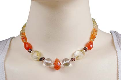 SKU 12729 unique Carnelian necklaces Jewelry