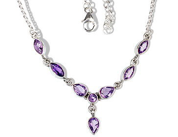 SKU 12689 - a Amethyst necklaces Jewelry Design image