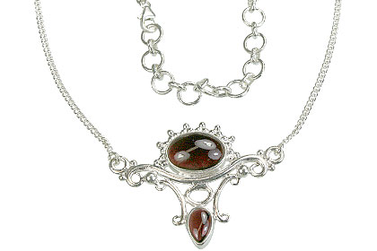 SKU 14385 - a Garnet Necklaces Jewelry Design image