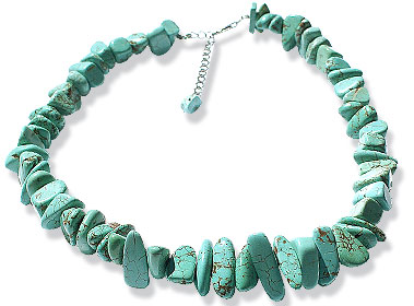 SKU 15128 - a Turquoise Necklaces Jewelry Design image