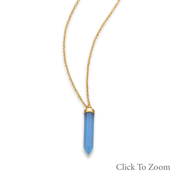 SKU 21736 - a Chalcedony Necklaces Jewelry Design image
