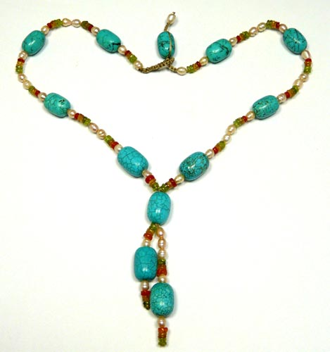 SKU 7474 - a Turquoise Necklaces Jewelry Design image