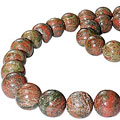 unakite necklaces