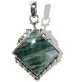 SKU 12079 - a Jasper pendants Jewelry Design image