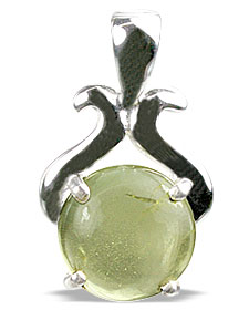 SKU 13473 - a Lemon quartz pendants Jewelry Design image