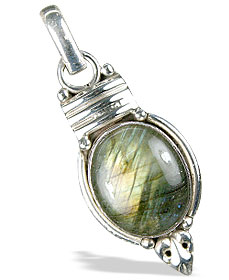 SKU 13684 - a Labradorite pendants Jewelry Design image