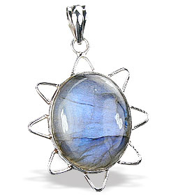 SKU 15902 - a Labradorite Pendants Jewelry Design image