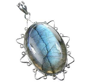SKU 15910 - a Labradorite Pendants Jewelry Design image