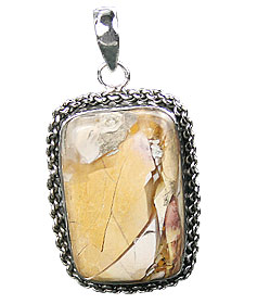 SKU 16022 - a Jasper Pendants Jewelry Design image
