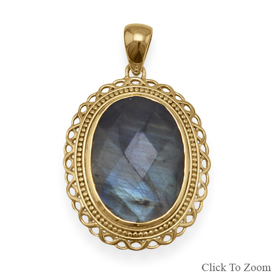 SKU 22058 - a Labradorite pendants Jewelry Design image