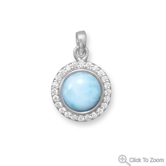 SKU 22070 - a Larimar pendants Jewelry Design image