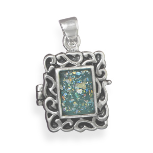 SKU 22077 - a Glass pendants Jewelry Design image