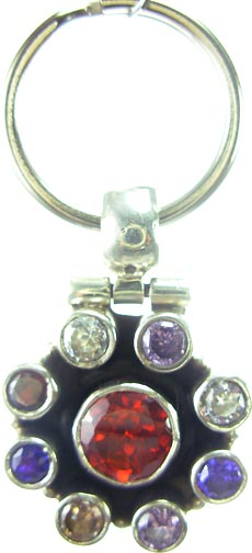 SKU 5190 - a Garnet Pendants Jewelry Design image