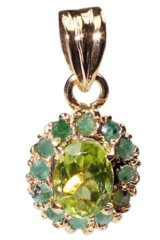 Peridot Green Glass Seed Bead Cluster Vintage Bracelet