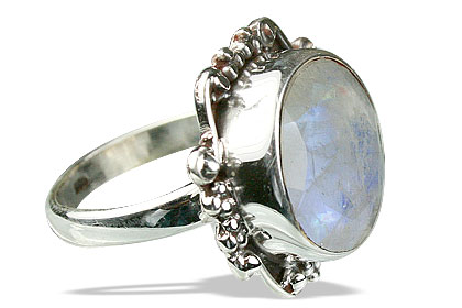 SKU 10179 - a Moonstone rings Jewelry Design image