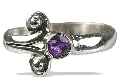 SKU 10181 - a Amethyst rings Jewelry Design image