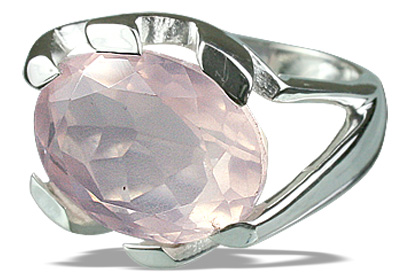 SKU 12291 - a Rose quartz rings Jewelry Design image