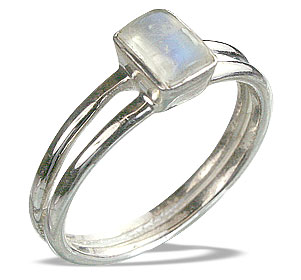 SKU 14233 - a Moonstone rings Jewelry Design image