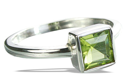 SKU 14327 - a Peridot rings Jewelry Design image