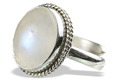 SKU 15477 - a Moonstone rings Jewelry Design image
