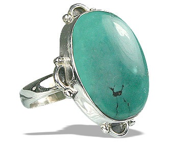 SKU 15947 - a Turquoise rings Jewelry Design image