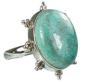 SKU 15949 - a Turquoise rings Jewelry Design image