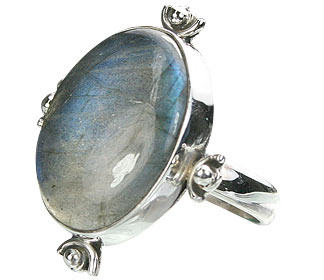 SKU 15989 - a Labradorite rings Jewelry Design image