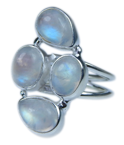 SKU 21654 - a Moonstone Rings Jewelry Design image