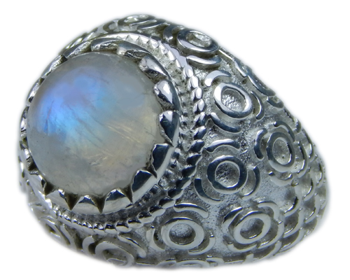SKU 21688 - a Moonstone Rings Jewelry Design image
