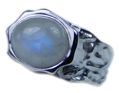 SKU 21706 - a Moonstone Rings Jewelry Design image